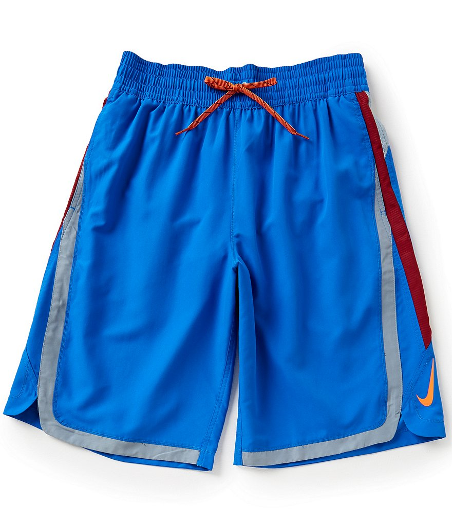 Nike Big & Tall Color Surge Beacon Volley Swim Trunks