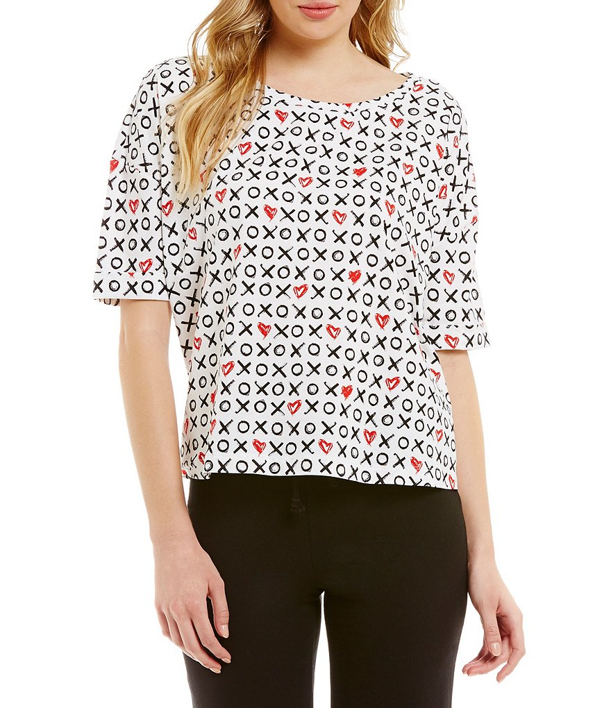 Jasmine & Ginger Cropped Sleep Top