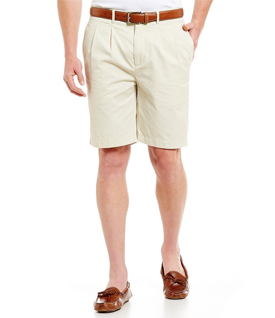 Cremieux Cambridge Pleated Shorts