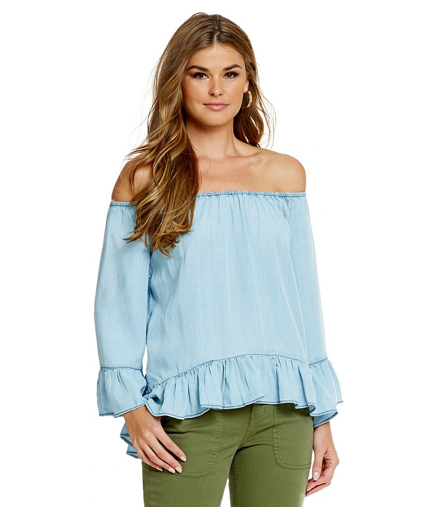 Sanctuary Denim Julia Off-The-Shoulder Top