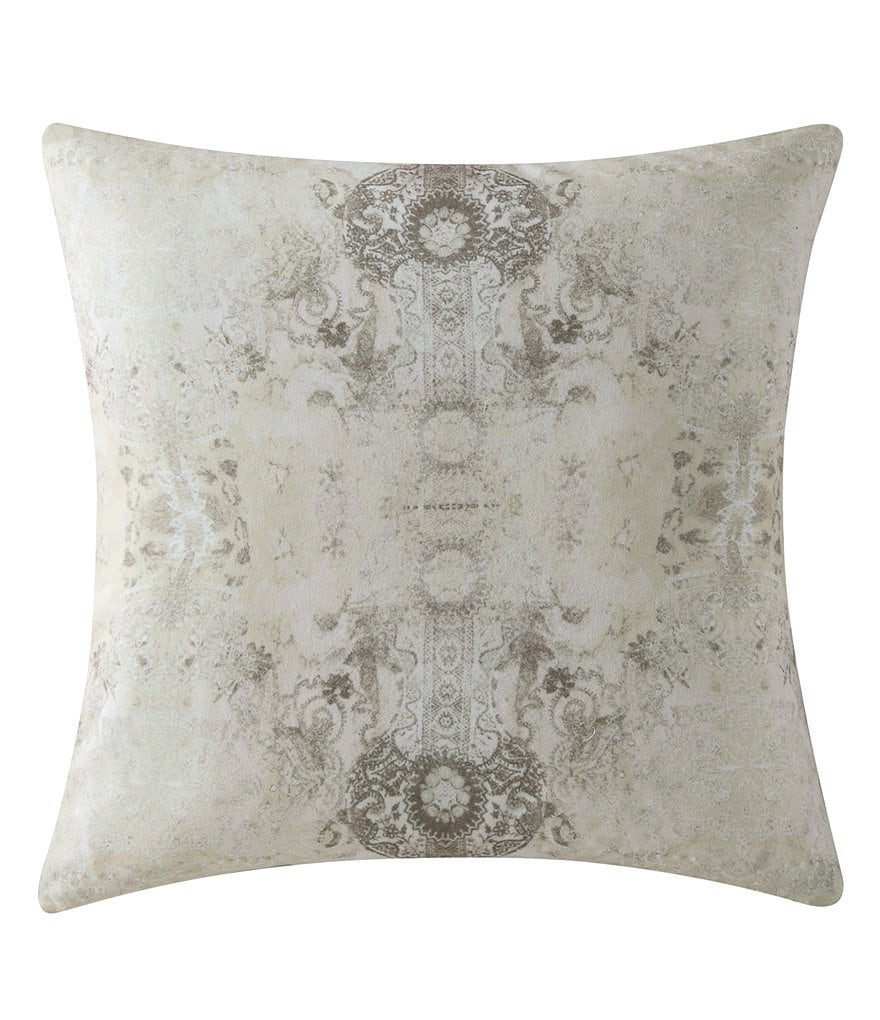 Poetic Wanderlust™ by Tracy Porter Gigi Bohemian Velvet & Faux-Silk Square Feather Pillow