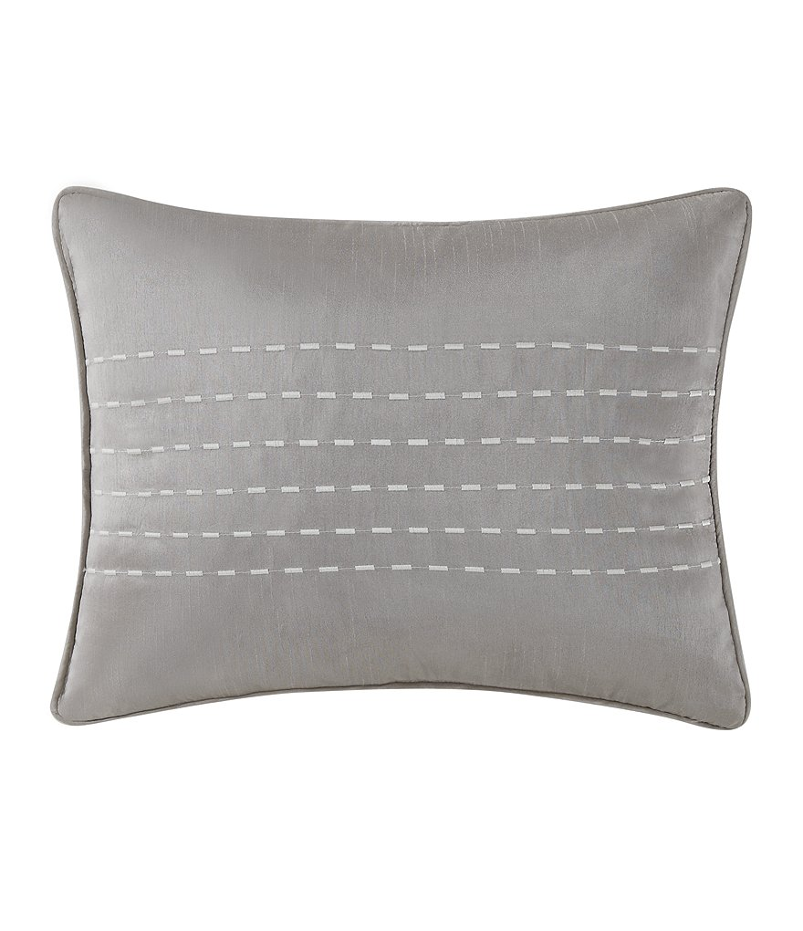 Poetic Wanderlust™ by Tracy Porter Gigi Embroidered Faux-Silk Oblong Pillow