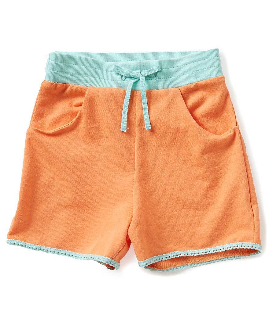 Adventure Wear by Copper Key Little Girls 2T-4T Rib Waist Shorts