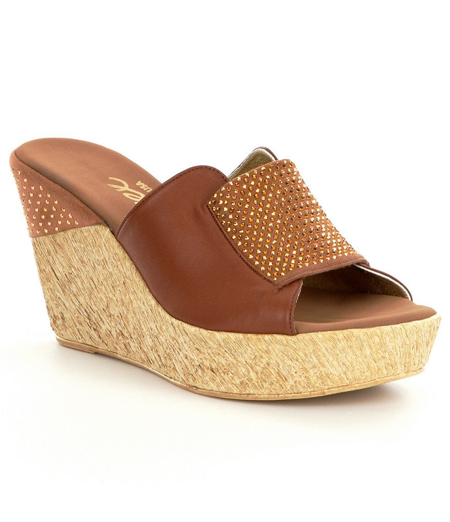 Onex Meredith Wedge Sandals