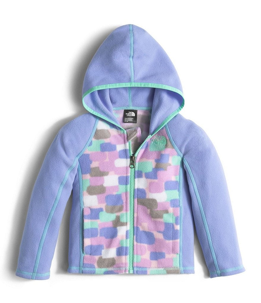The North Face Little Girls 2T-4T Glacier Full-Zip Hoodie