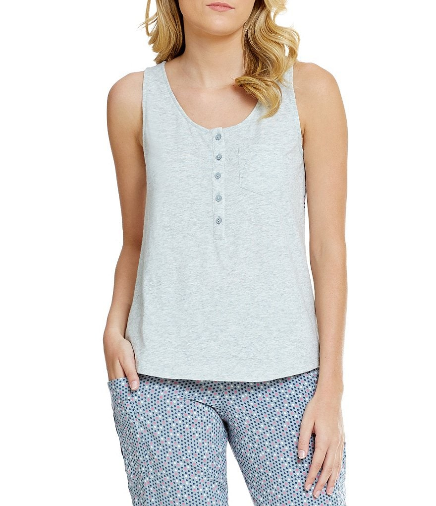Jasmine & Ginger Solid Sleep Tank