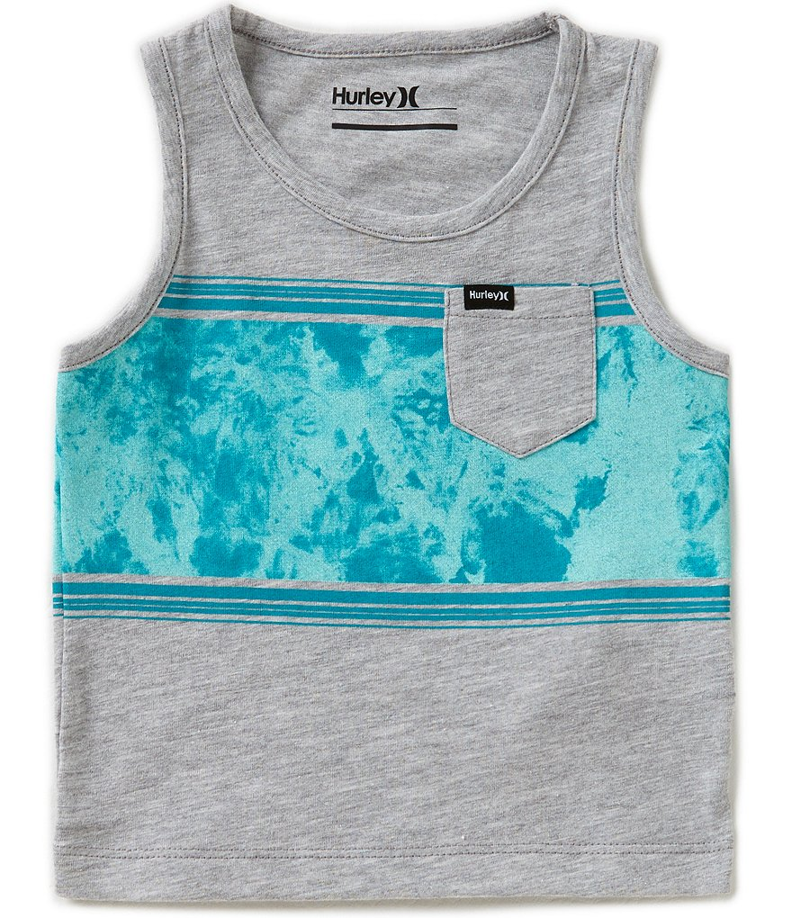 Hurley Baby Boys 12-24 Months Color Block Tank