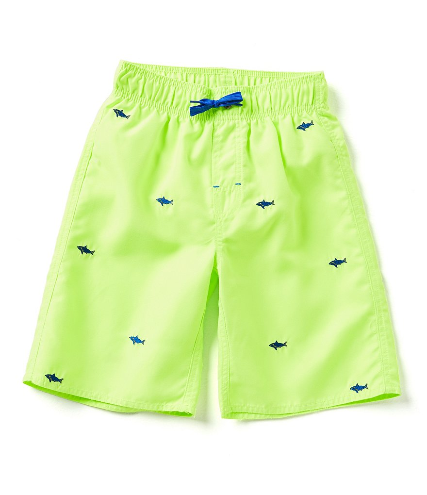 First Wave Big Boys 8-20 Shark Swim Trunks