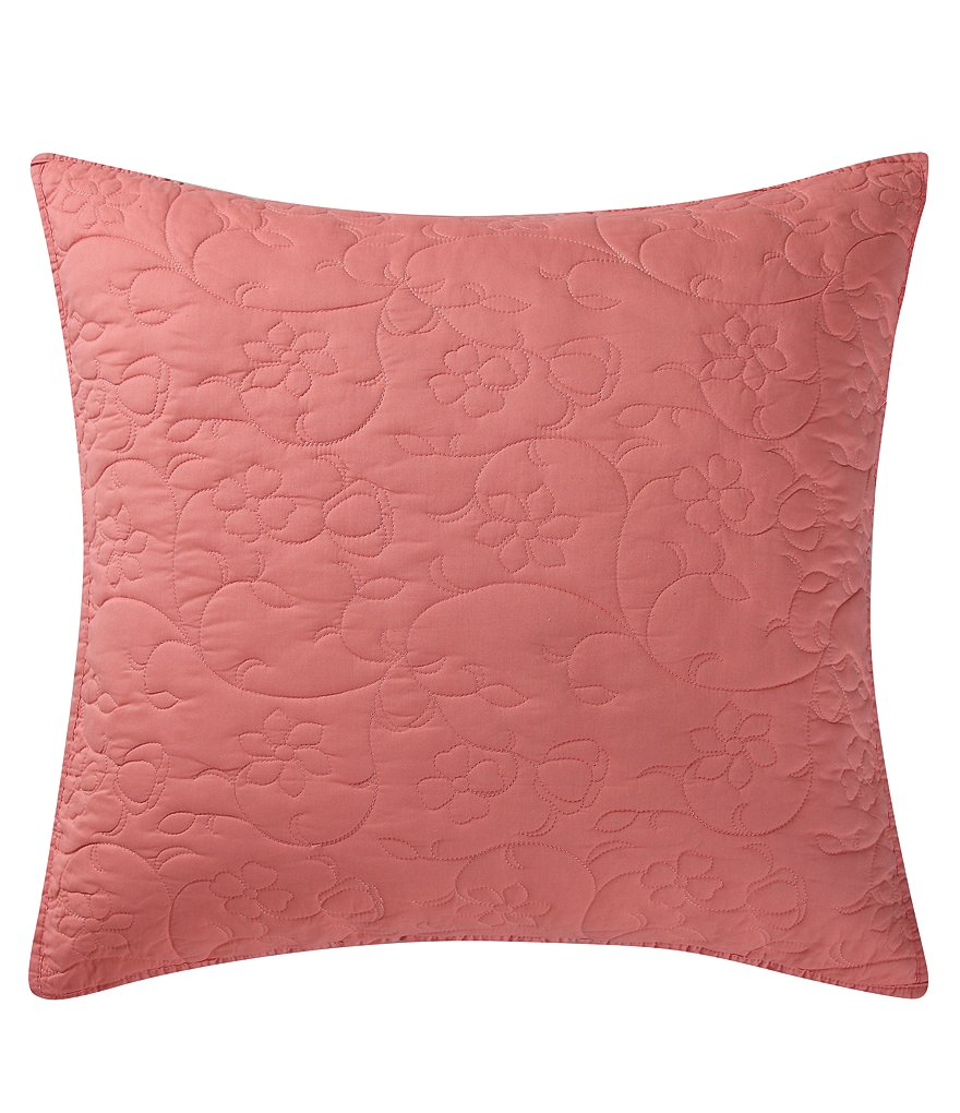 Poetic Wanderlust™ by Tracy Porter Wish Floral-Quilted Euro Sham