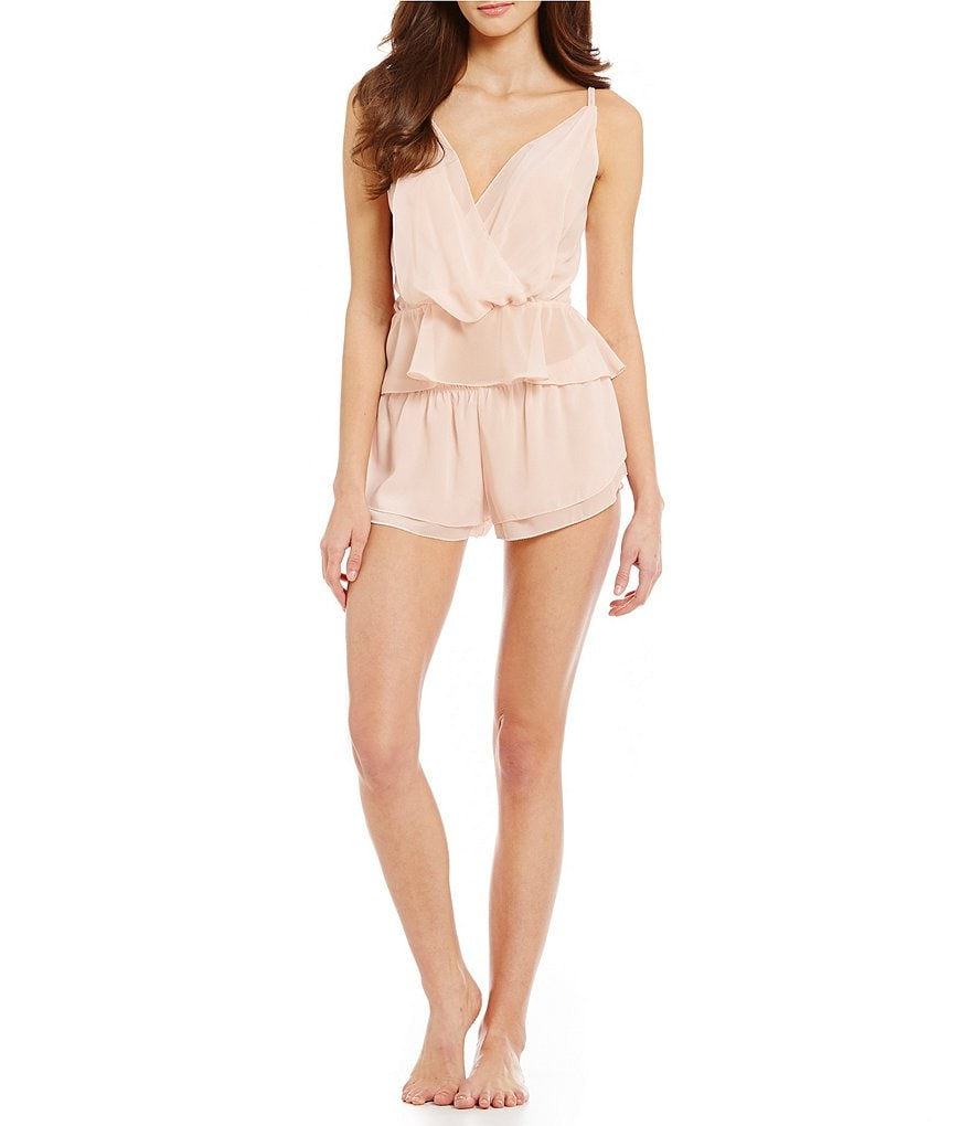 Flora Nikrooz Blossom Chiffon Cami and Short Set