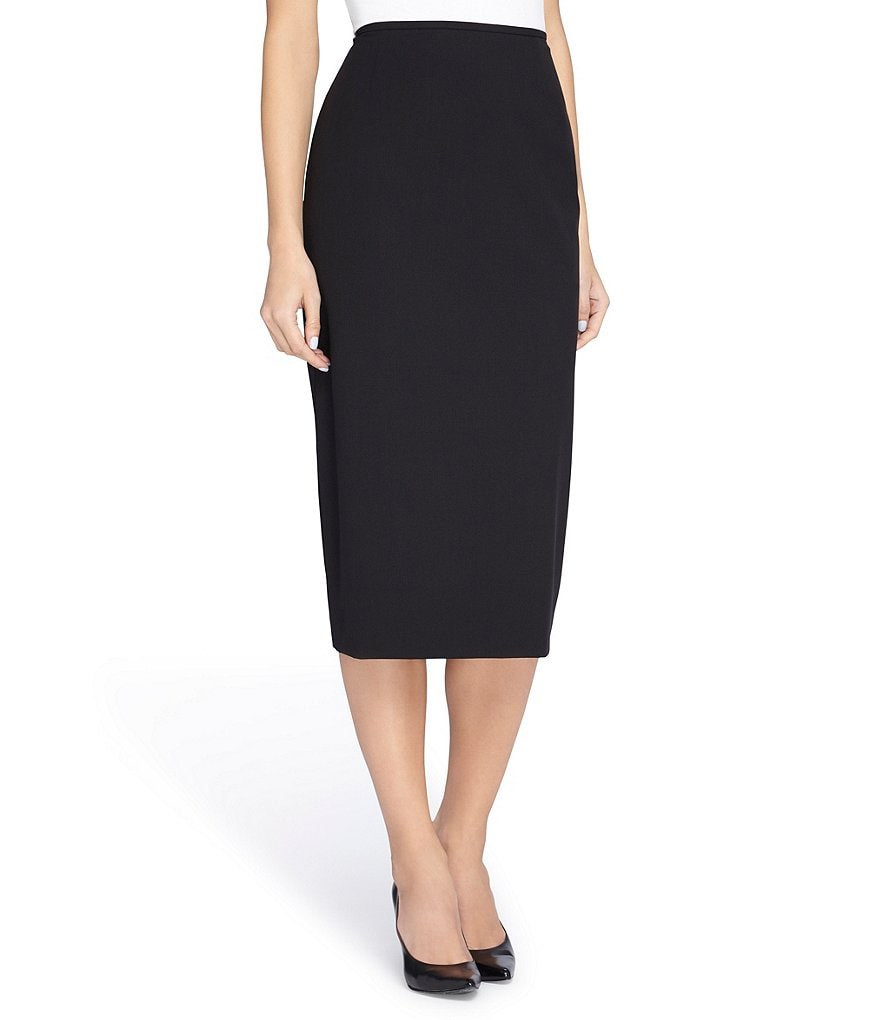 Tahari ASL Bi-Stretch Seamed Pencil Skirt