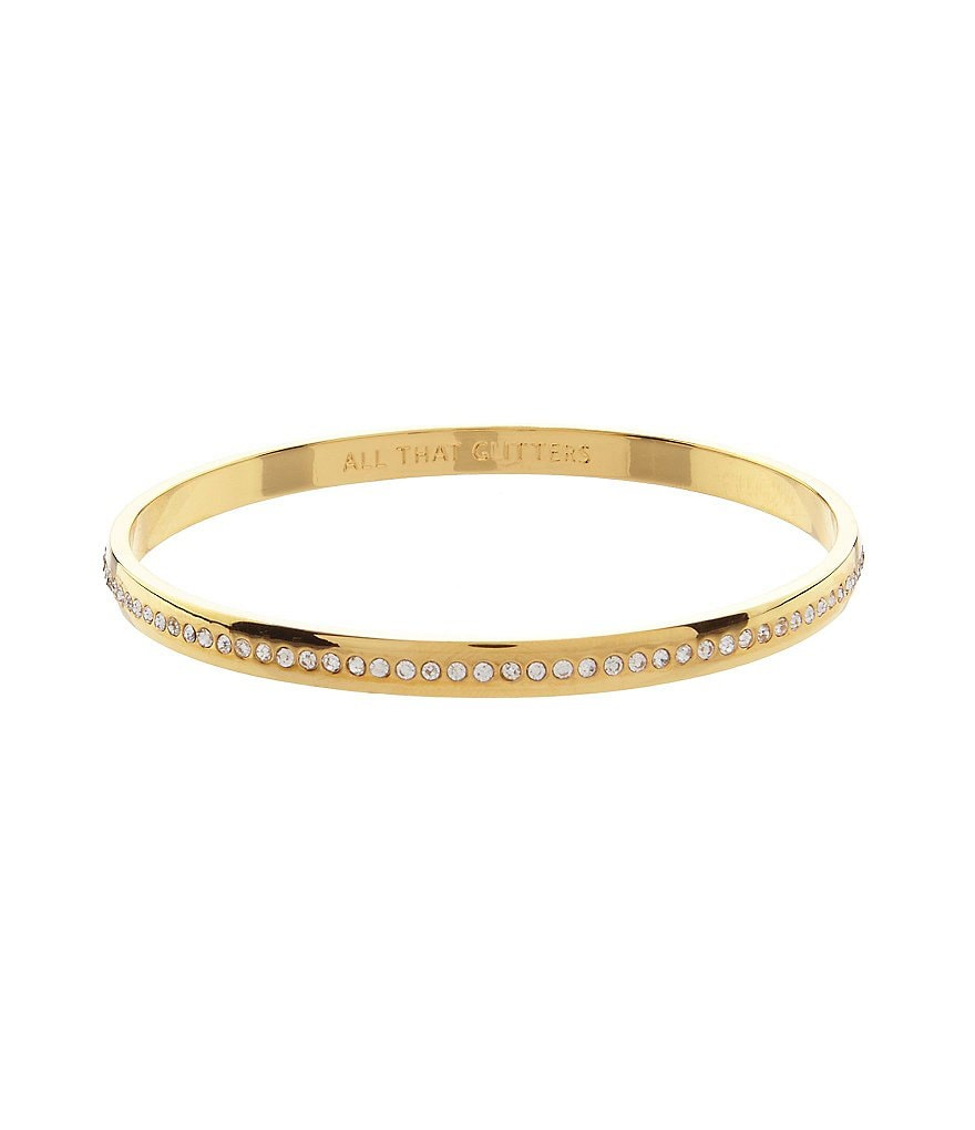 kate spade new york All That Glitters Pavé Bangle