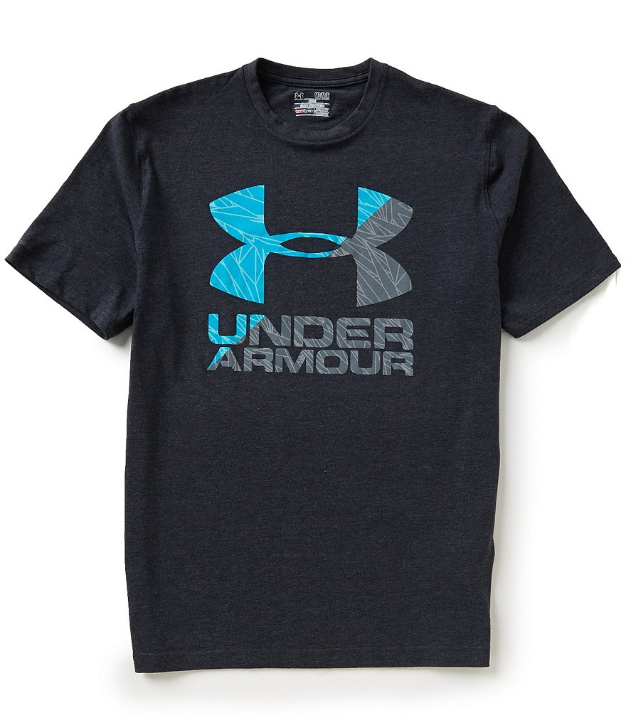 Under Armour Short-Sleeve Logo Split Graphic Tee