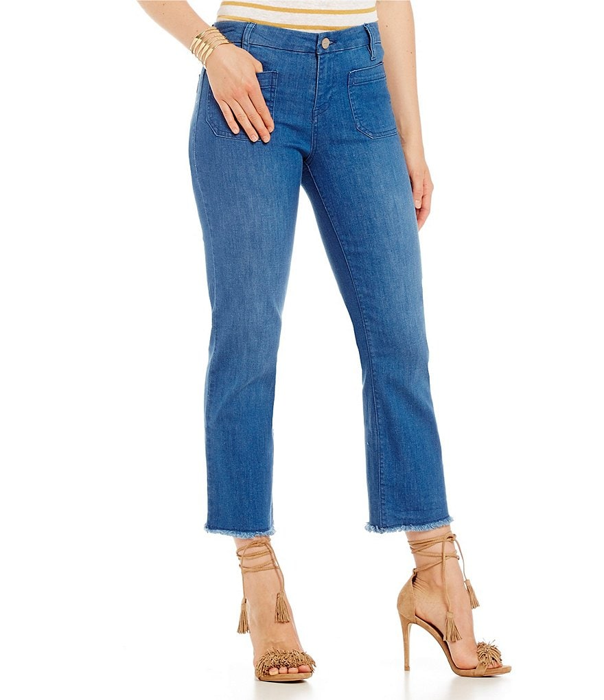 Sanctuary Marianne Frayed Crop Jeans
