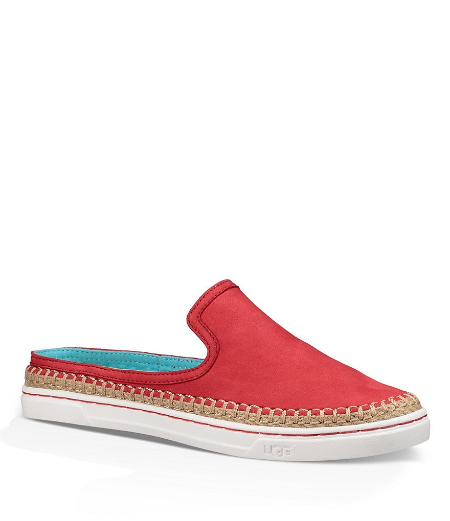 UGG® Caleel Deco-Stitching Slip-On Slides