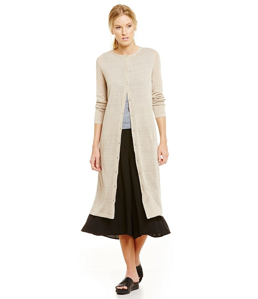 Eileen Fisher Long Cardigan