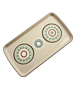 Denby Heritage Collection Veranda Accent Rectangle Plate Image