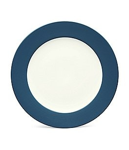 Noritake Colorwave Coupe Rimmed Matte & Glossy Stoneware Dinner Plate Image