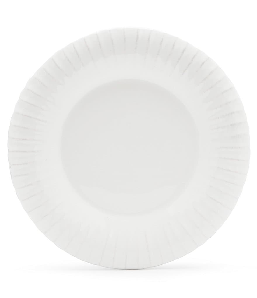 Costa Nova Village Collection Ribbed Dinner Plate