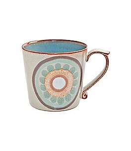 Denby Heritage Collection Terrace Rustic 1960s Arabesque Mug Image