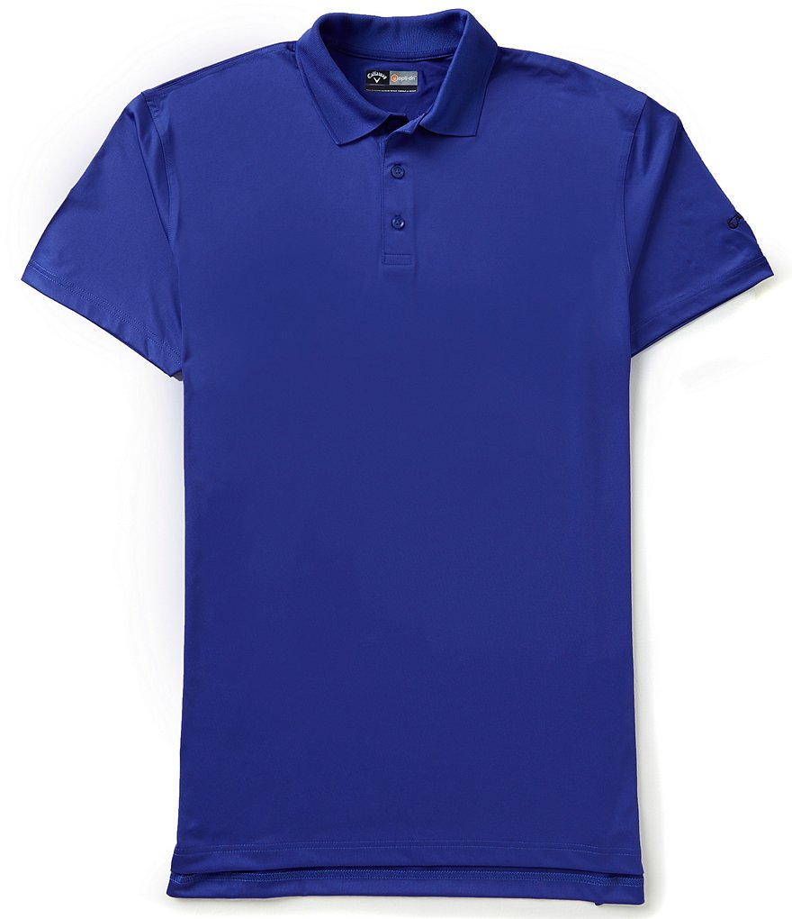 Callaway Big & Tall Short-Sleeve Opti-Dri Solid Performance Polo Shirt