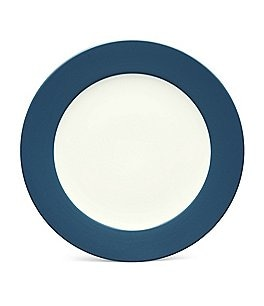 Noritake Colorwave Coupe Matte & Glossy Stoneware Rimmed Round Platter Image