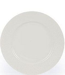 Gorham Woodbury Embossed Bone China Dinner Plate Image