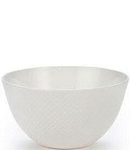 Gorham Woodbury Embossed Bone China All-Purpose Bowl Image