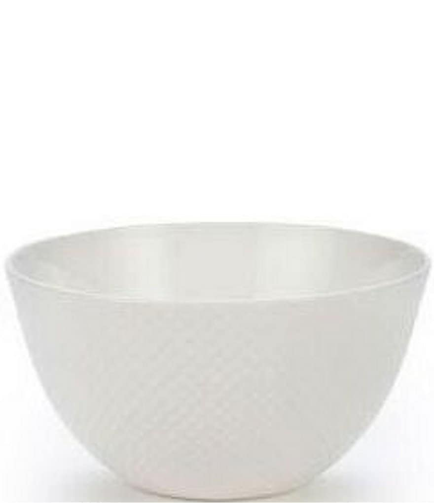 Gorham Woodbury Embossed Bone China All-Purpose Bowl