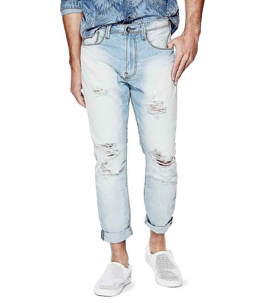 Guess Taper Crop Jeans