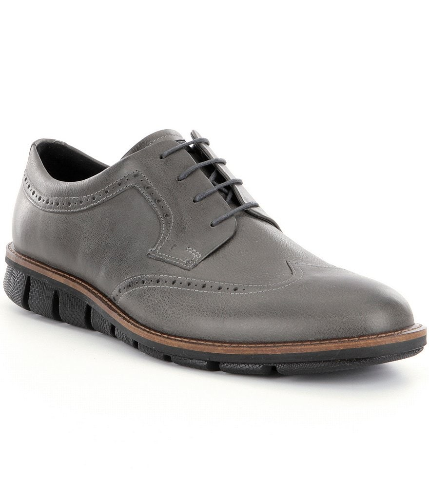 ECCO Jeremy Men´s Brogue Wingtip Leather Tie Shoes