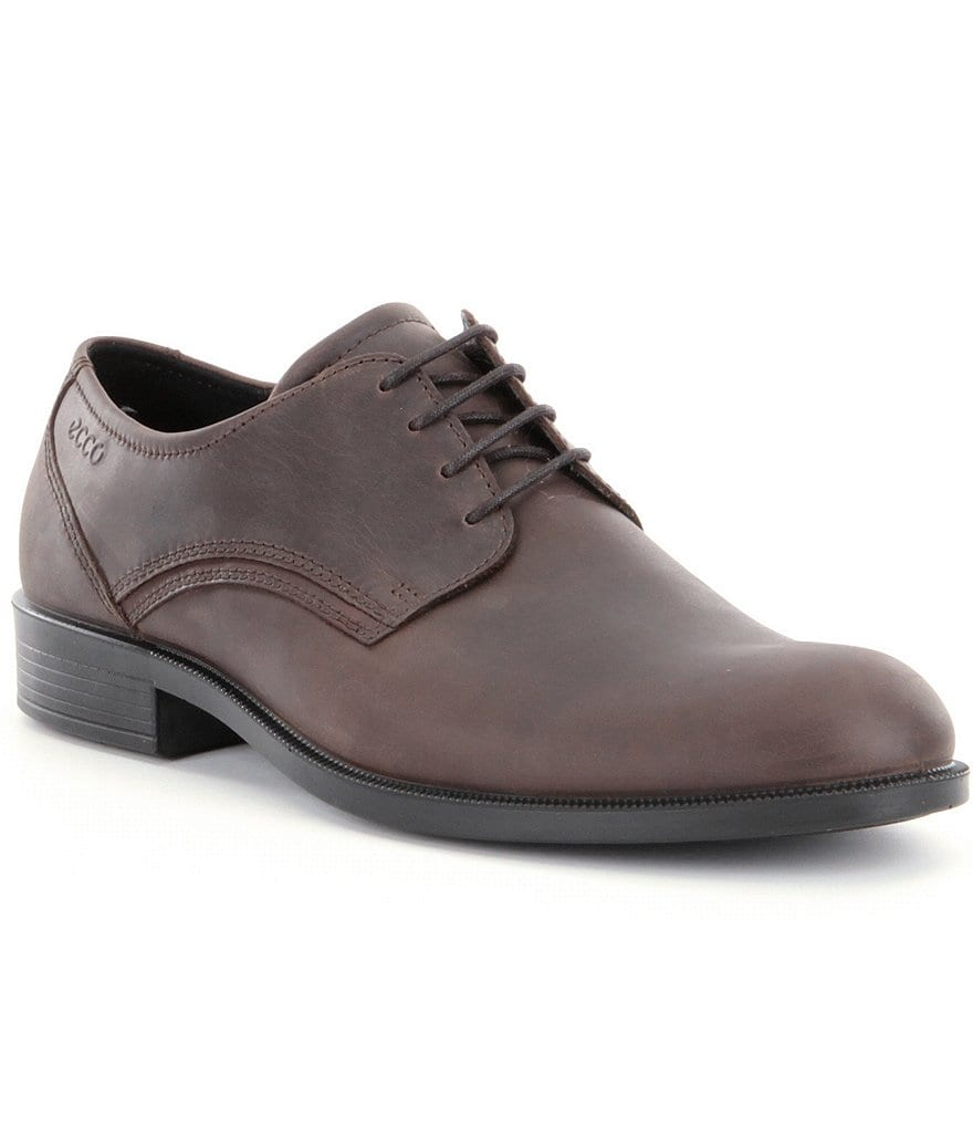ECCO Harold Derby Tie Shoes
