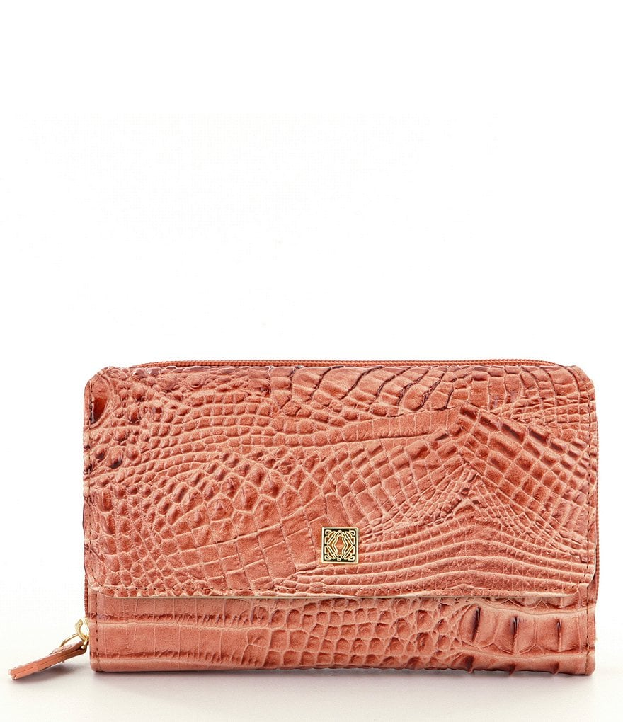 Kate Landry Blair Hornbeck Croco Works Wallet