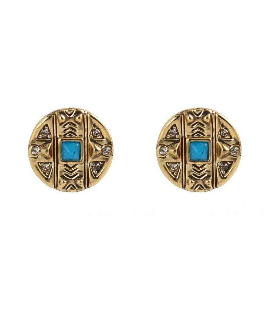 House of Harlow 1960 Maricopa Coin Stud Earrings