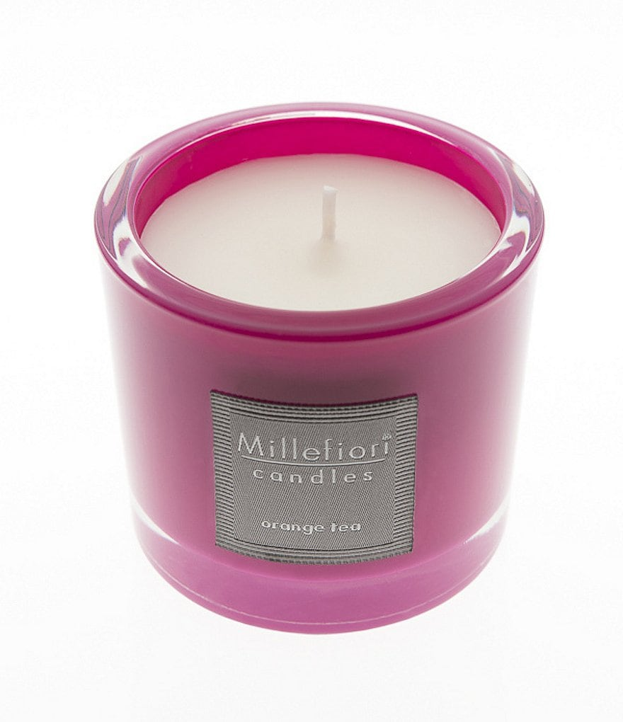 Millefiori Milano Orange Tea Jar Candle