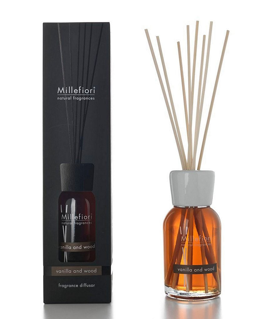 Millefiori Milano Natural Fragrances Vanilla and Wood Reed Diffuser