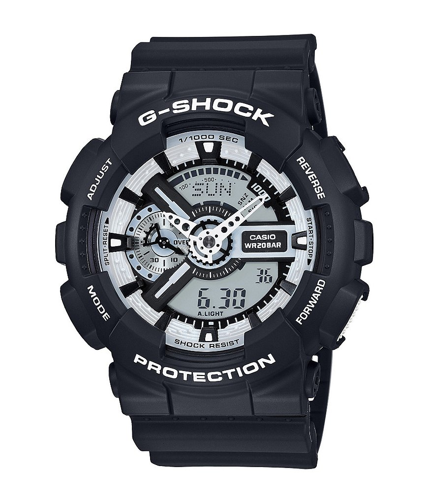 G-Shock XL Ana-Digi Resin Band World Time Watch
