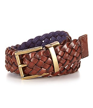 Cole Haan Woven Reversible Belt