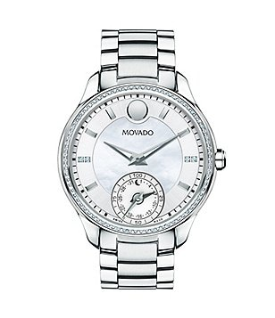 Movado Motion Ladies' Bellina Stainless Steel Diamond Smart Watch