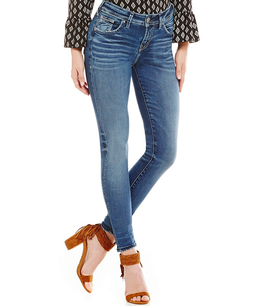 Silver Jeans Co. Suki High Super Skinny Jeans