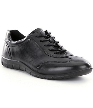 ECCO Babett II Leather Lace Up Sneakers