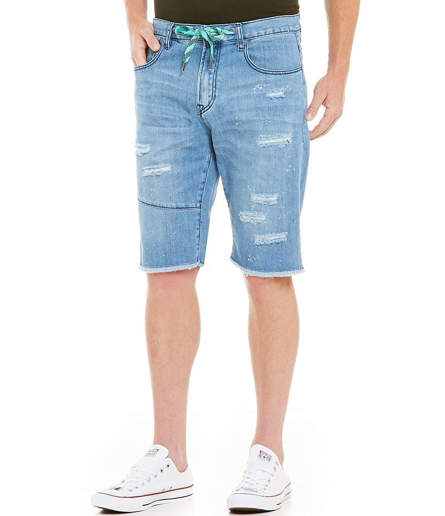 LRG Sudden Strike Denim Shorts