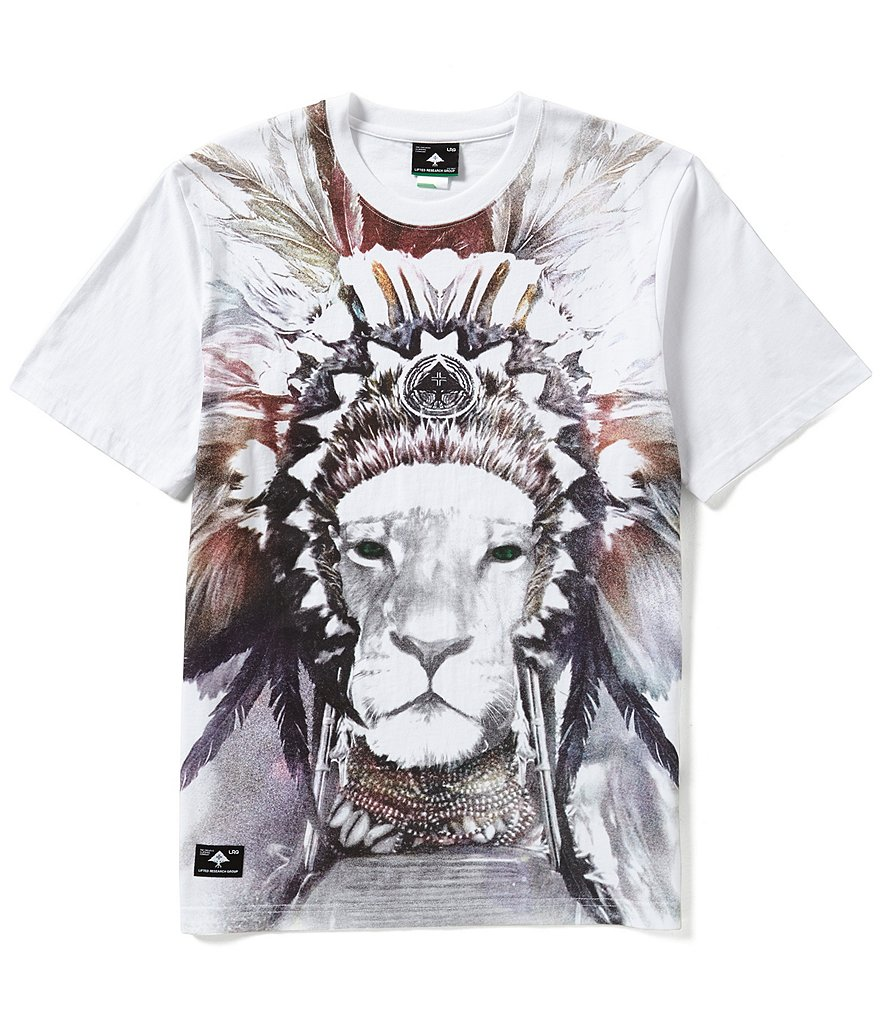 LRG Lion Pride Short-Sleeve Graphic Tee