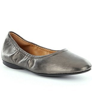 ECCO Women´s Taisha Slip-On Leather Ballerina Flats