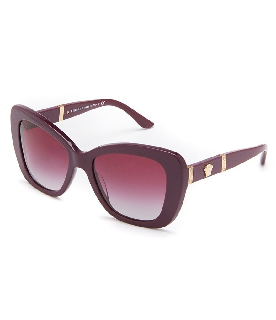 Versace Rock Icon Medusa Cat-Eye Sunglasses