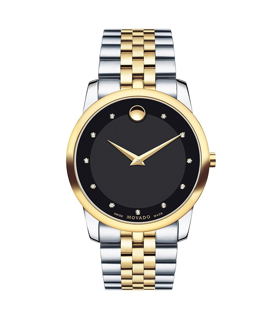 Movado Men´s Museum Classic Stainless Steel Swiss Analog Watch