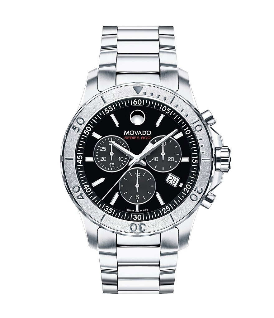Movado Series 800 Performance Steel Chronograph Watch