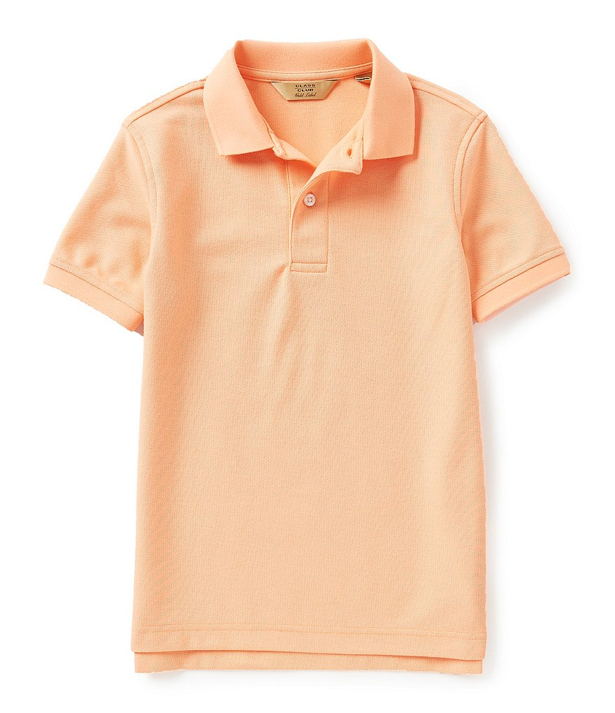 Class Club Big Boys 8-20 Pique Polo Shirt