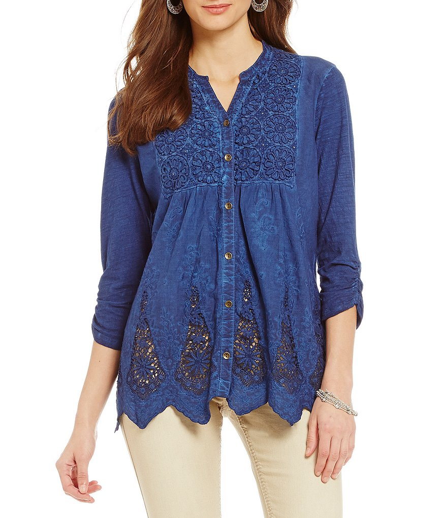 Reba Katie Embroidered Tunic