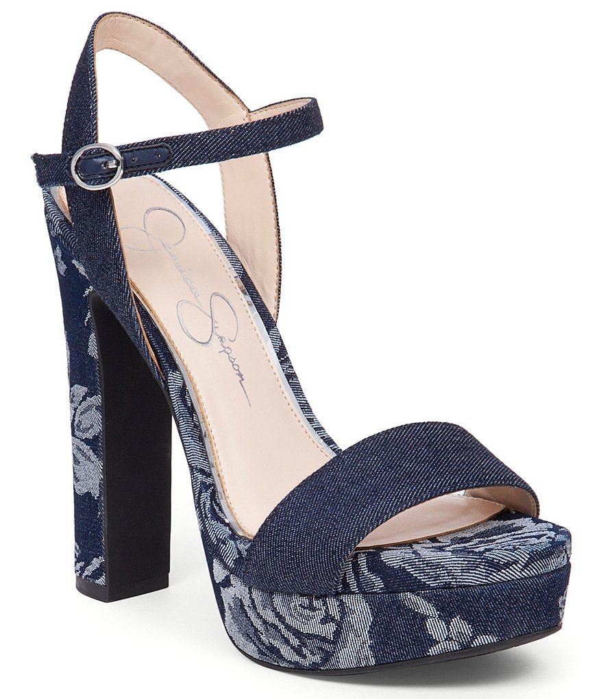 Jessica Simpson Blaney Platform High Heel Sandals